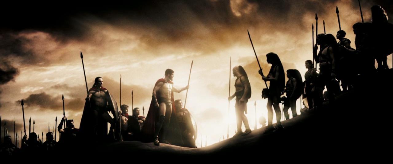 300 спартанцев кадр из фильма