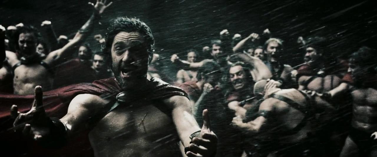 300 спартанцев момент из фильма