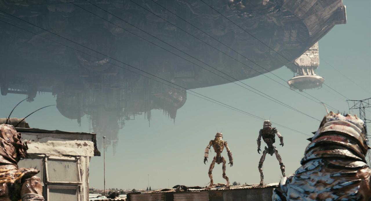 Район №9 кадры из фильма