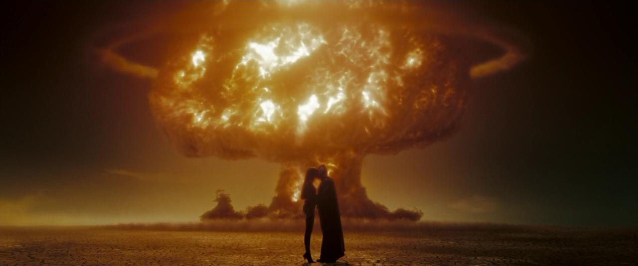 Watchmen взрыв