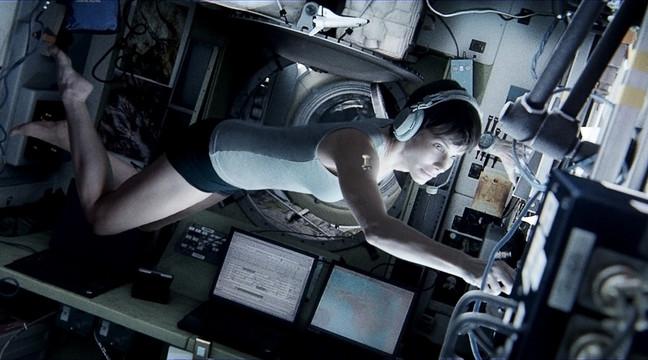 Гравитация, кадр из фильма