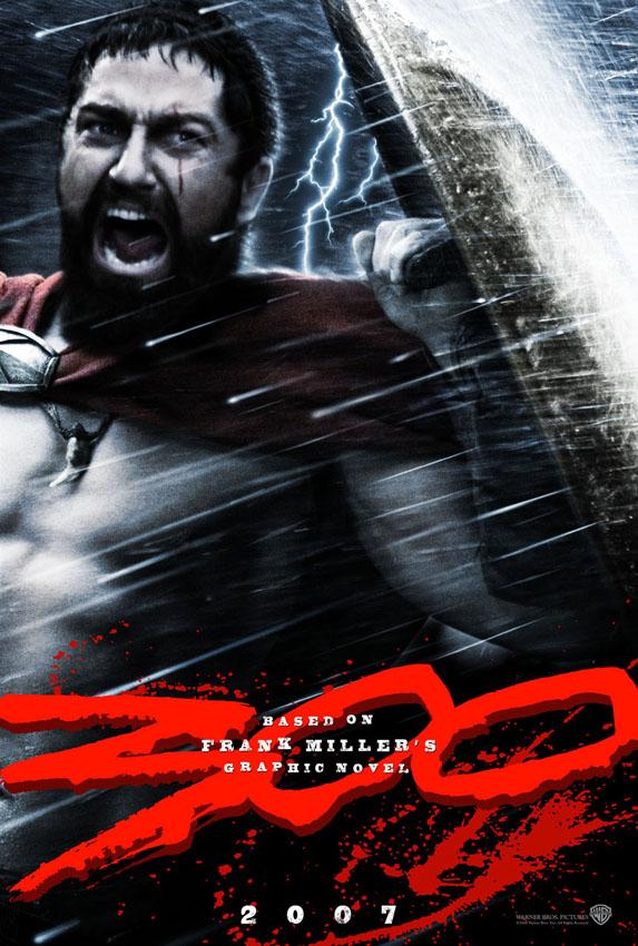 300 спартанцев постер