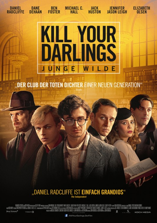 Kill Your Darlings 2013 poster