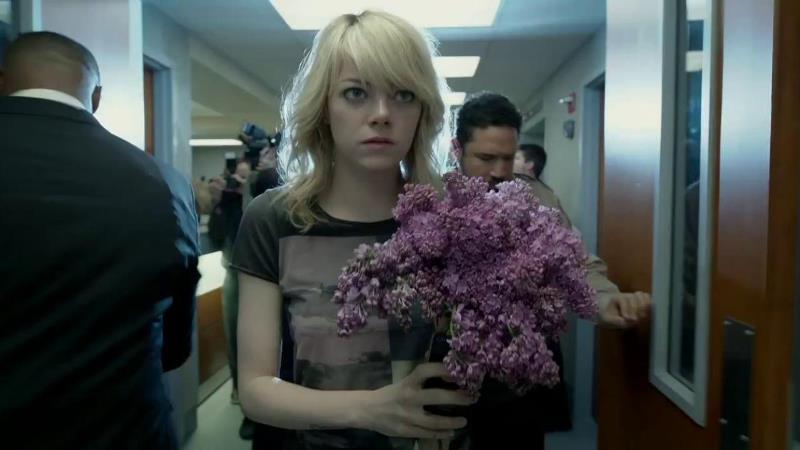 Бердмэн Сэм с цветами