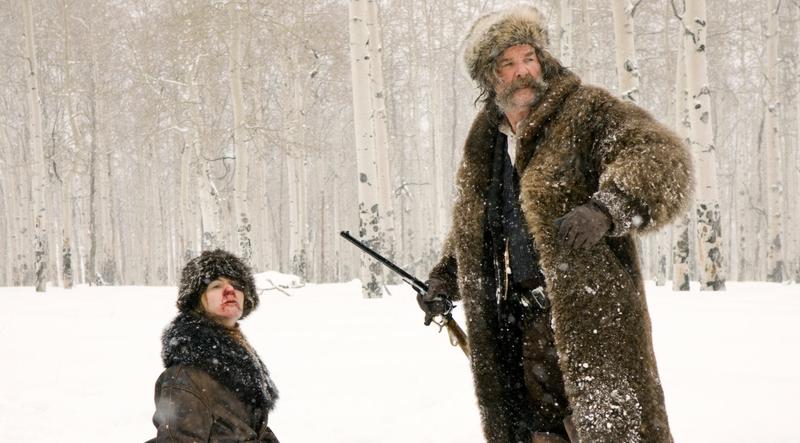 Омерзительная восьмерка (The Hateful Eight, 2015) - Рут и Дейзи в снегу