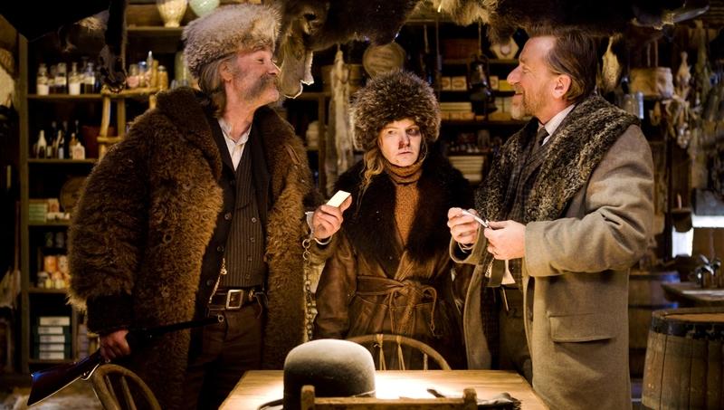 Омерзительная восьмерка (The Hateful Eight, 2015) - Рут и Освальдо в Галантерее Минни