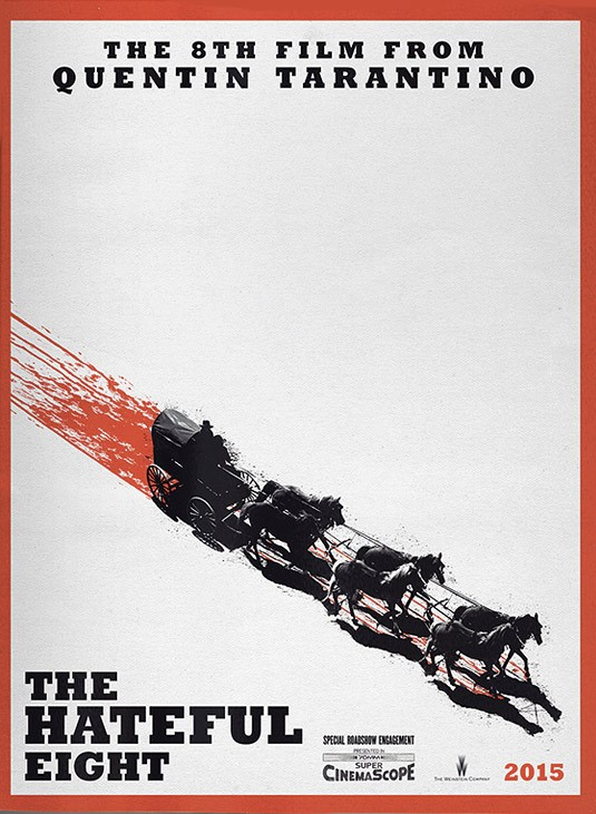 Омерзительная восьмерка - постер к фильму