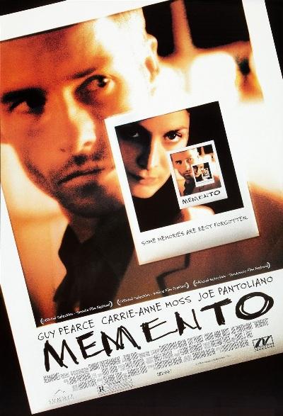Memento (Помни) - постер к фильму