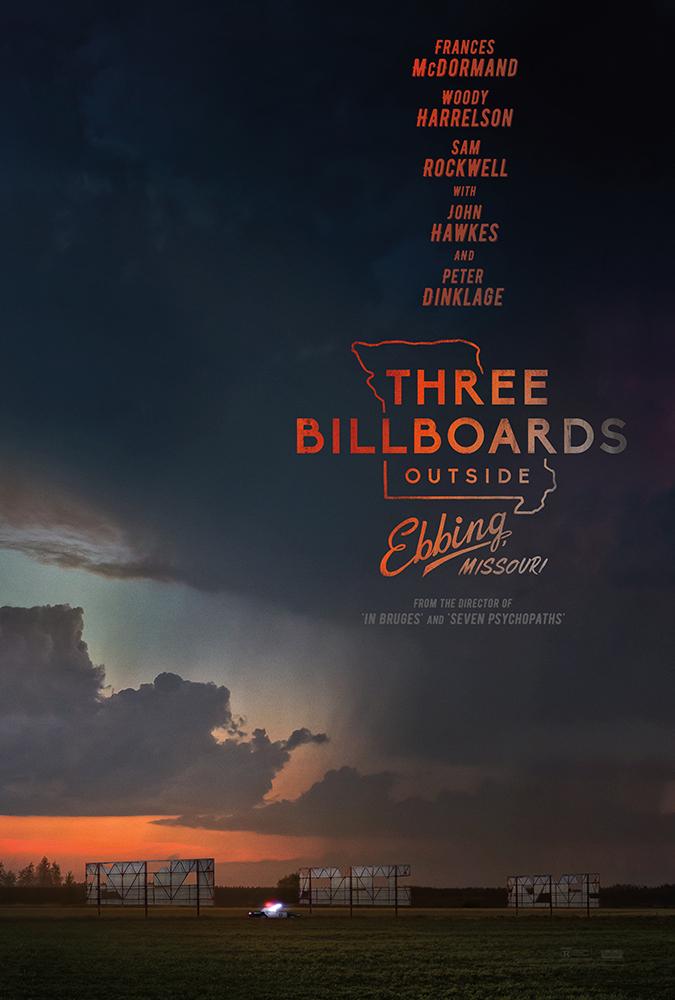 Три билборда на границе Эббинга, Миссури — постер