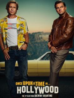 Однажды в Голливуде постер к фильму