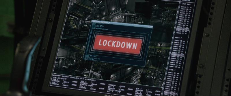 План побега (Escape Plan) 2013 - Люки заблокированны