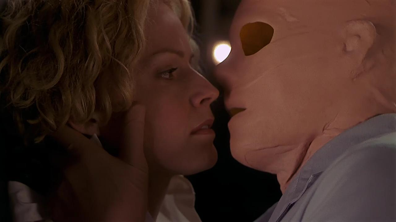 Невидимка поцелуй