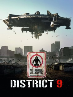 District 9 Район номер 9 постер