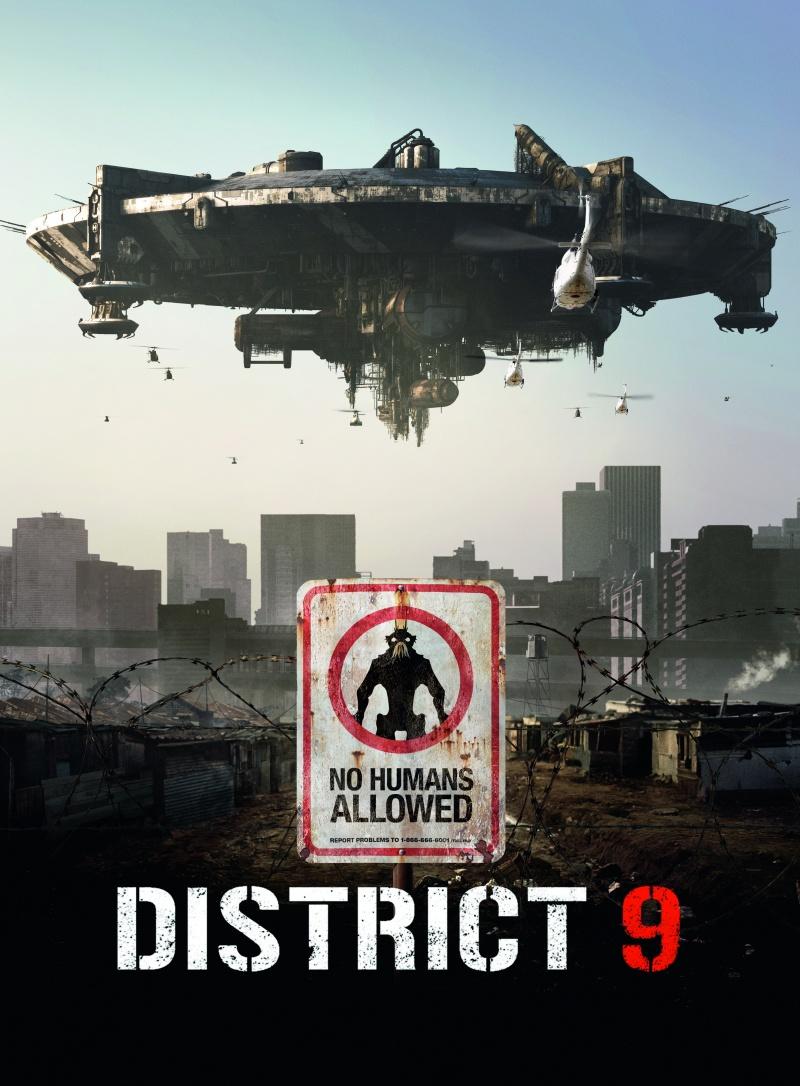 District 9 Район номер 9 постер