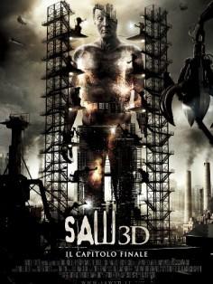Пила 3D постер фильма
