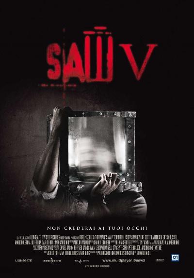 Пила 5 постер фильма