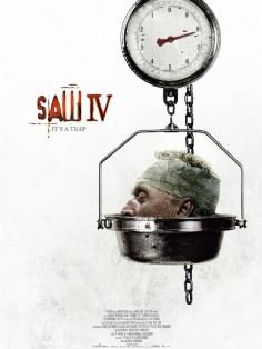 Пила 4 постер фильма