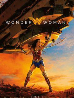 Чудо Женщина постер к фильму