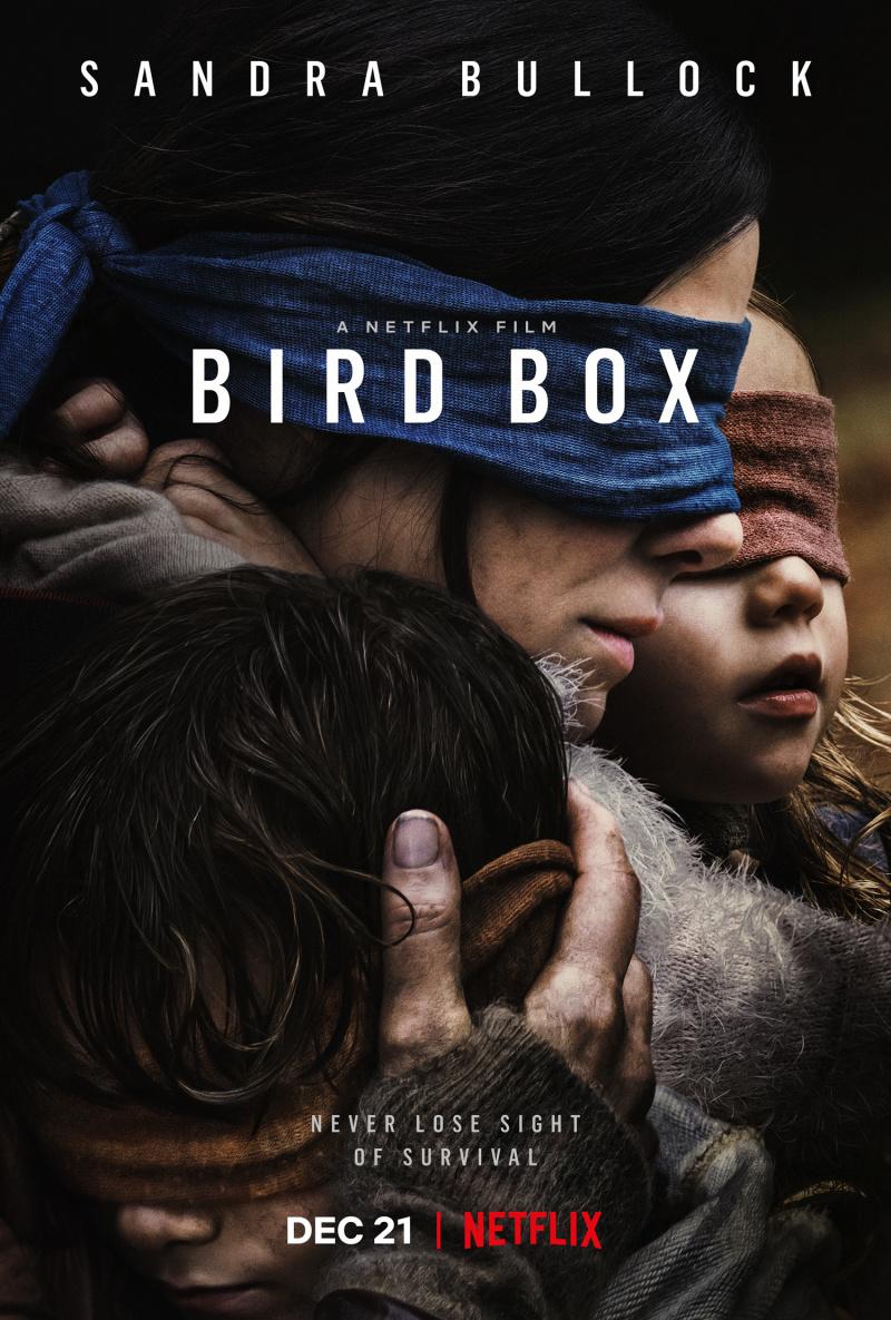 Птичий короб 2019 Bird box - постер